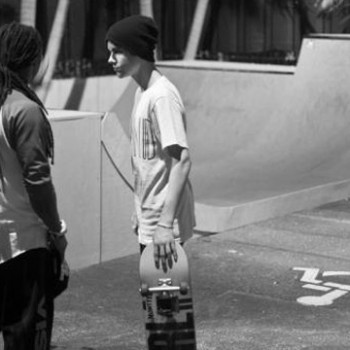 Justin Bieber Takes a Studio Break With Lil' Wayne