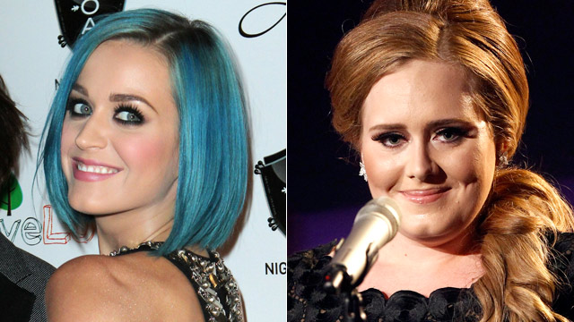 ... Katy Perry and Adele have been added to the all-star lineup.