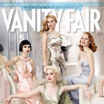 Jennifer Lawrence, Shailene Woodley, Lily Collins Grace Vanity Fair Cover