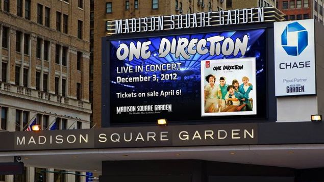 One direction madison square garden concert on december 3 cambio