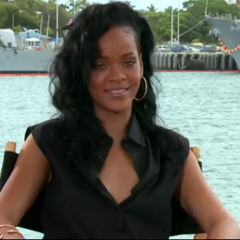Exclusive: Rihanna Reveals <i>Battleship</i> On-Set Pranks