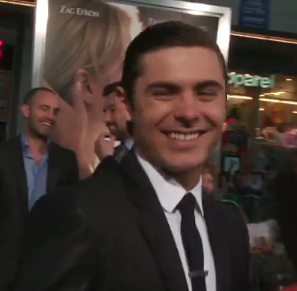 Zac Efron Red Carpet The Lucky One
