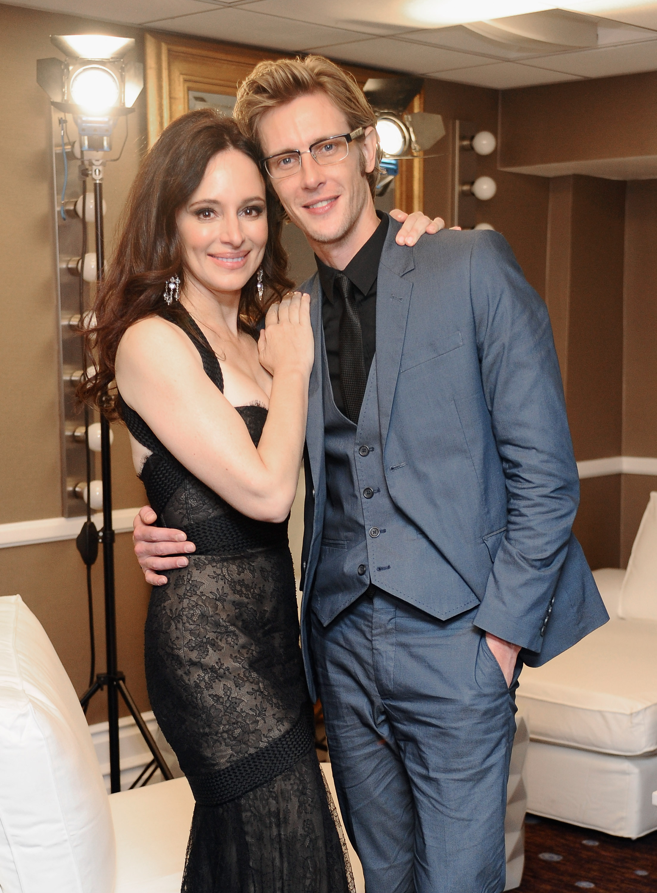 Madeleine Stowe couple