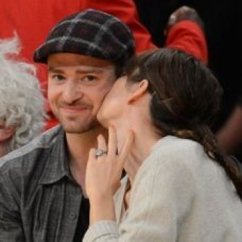 Justin Timberlake, Jessica Biel Show Major PDA on Kiss Cam