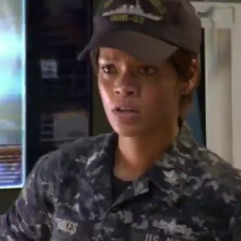Rihanna Loved Not Worrying About Fashion in 'Battleship'