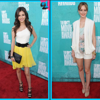 Leighton Meester vs. Victoria Justice: Fashion Face-Off