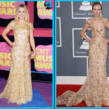 Kristen Bell vs. Taylor Swift: Fashion Face-Off