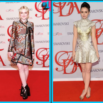 Dakota Fanning vs. Lily Collins: Fashion Face-Off