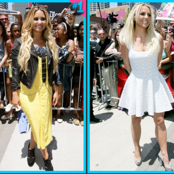 Demi Lovato vs. Britney Spears: Fashion Face-Off REMATCH!