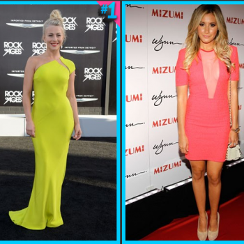 Julianne Hough vs. Ashley Tisdale: Fashion Face-Off