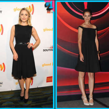 Dianna Agron vs. Katie Holmes: Fashion Face-Off