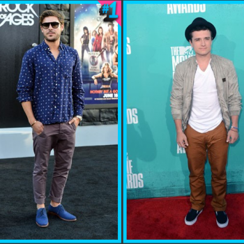 Zac Efron vs. Josh Hutcherson: Fashion Face-Off