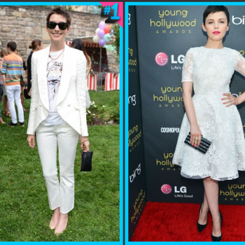 Anne Hathaway vs. Ginnifer Goodwin: Which Outfit Would You Wear?