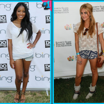 Keke Palmer vs. Cassie Scerbo: Casual Face-Off