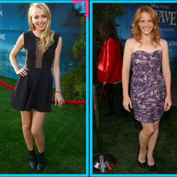 Megan Park vs. Katie Leclerc: Mini Dress Face-Off!