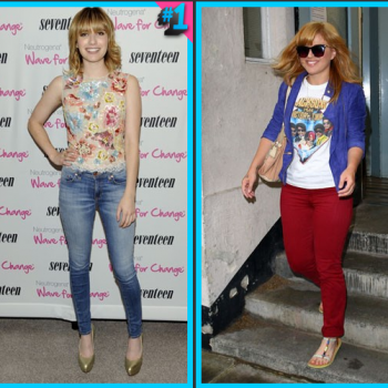 Emma Roberts vs. Kelly Clarkson: Blue Jeans or Red Jeans?