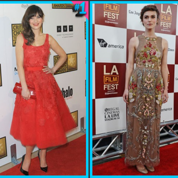 Zooey Deschanel vs. Keira Knightley: Which is Your Style?