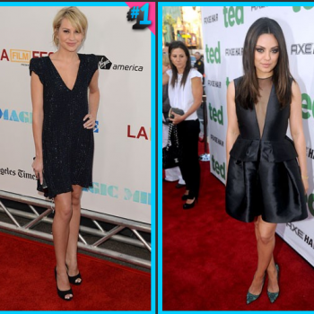 Chelsea Kane vs. Mila Kunis : Red Carpet Throwdown!