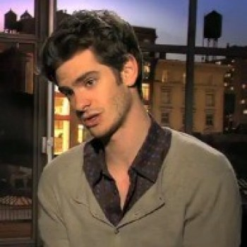 "Andrew Garfield on Those Tights: ""I Was Scared to Put on the Spider-Man Suit!"""