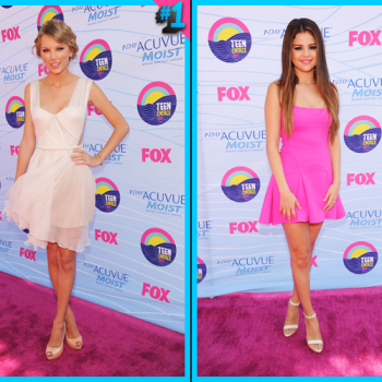Taylor Swift vs. Selena Gomez: TCA Best Dressed Female