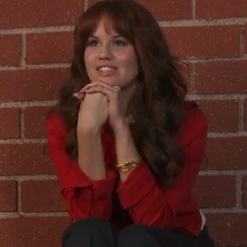 "Debby Ryan Gives Us Style Tips: ""Black, Skinny Jeans Are My Best Friend..."""