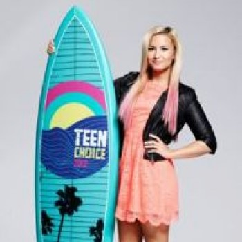 Demi Lovato: Teen Choice Awards 2012 Promo Photo, Demi Says She's Excited to Host!