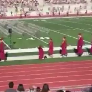 Most Embarrassing Graduation Moment Ever? (VIRAL VIDEO)