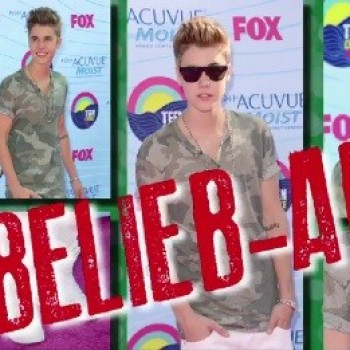 "Justin Bieber's ""Un-Belieb-Able"" Red Carpet Look...We Miss His Hair!"