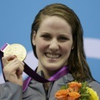 Teen Olympian Missy Franklin Gets Her First Gold Medal--and a Surprise from Justin Bieber!!