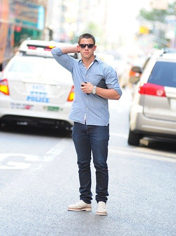 Nick Jonas in New York City
