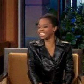 Watch Gold Medalist Gabrielle Douglas Hang with Jay Leno and the First Lady on The 'Tonight Show'!