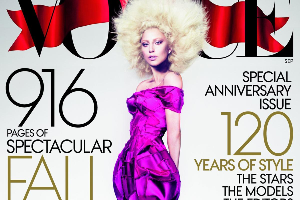 Lady Gaga Vogue Cover