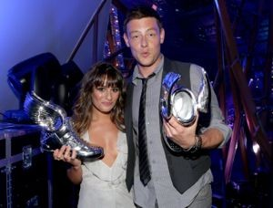 lea michele and cory monteith, lea michele cory monteith do something awards, lea michele cory monteith dating, monchele, monchele do something awards, lea michele cory monteith pda, cory monteith and lea michele