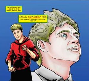 one direction, one direction comic book, one direction comic book characters, one direction comic book drawings, one direction comic book order, where to buy one direction comic book