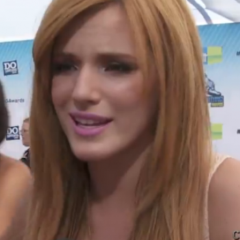 "Bella Thorne's Advice on Handling Bullies: ""Just Walk Away--Who Cares What They Say About You?"""