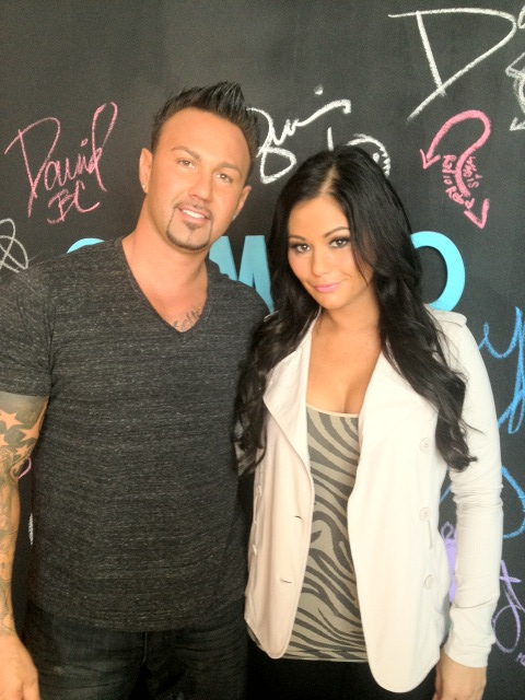 JWOWW at Cambio