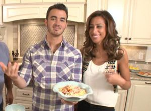 married to jonas, kevin and danielle jonas, kevin jonas, kevin and danielle jonas on rachael ray, married to jonas rachael ray