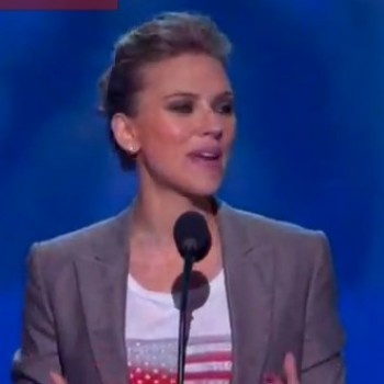 Scarlett Johansson Makes Inspiring Speech on Why Voting is So Important in This Election!