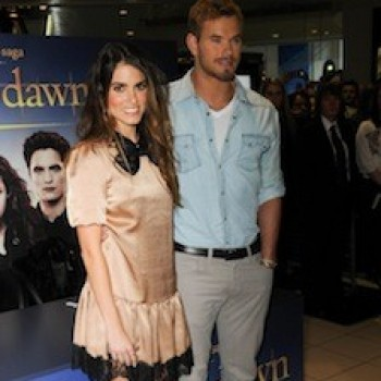 Kellan Lutz and Nikki Reed Promote 'Breaking Dawn' and Rave About Kristen as a Vampire!