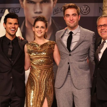 Kristen Stewart is a Gold Goddess at Berlin Premiere of 'Breaking Dawn Part 2'