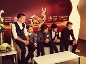 one direction, one direction bambi awards, one direction 2012 bambi awards, one direction live while were young