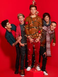 one direction, one direction news, one direction christmas, one direction parade magazine, one direction holidays