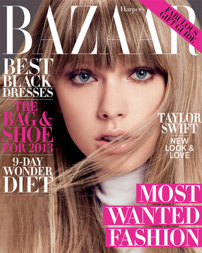 Taylor Swift's Harper's Bazaar magazine cover