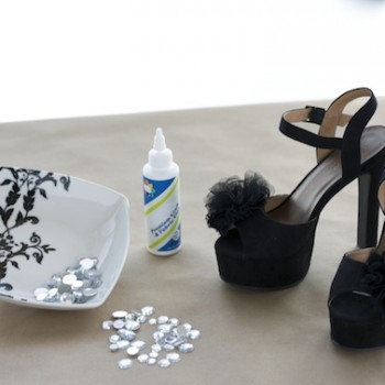 DIY Holiday Shoes: Put Your Fiercest Foot Forward!