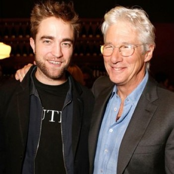 Robert Pattinson and Richard Gere Do Lunch: For Business or Pleasure?