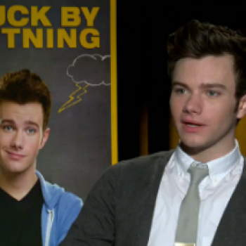 Chris Colfer Is Looking Forward to a Crazy Christmas With His Extended Family!