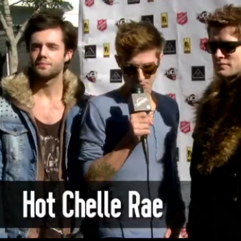 Hot Chelle Rae's Christmas Plans: To Stay in Their Pajamas as Long as Possible!