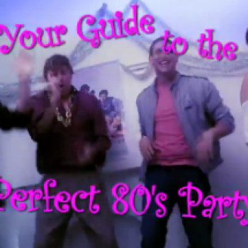 How to Throw a Totally Awesome '80s Party!