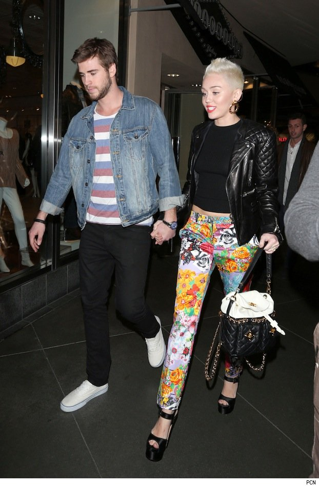 Liam Hemsworth & Miley Cyrus