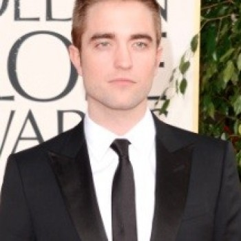 Robert Pattinson Golden Globes 2013: New Buzzed Hair!